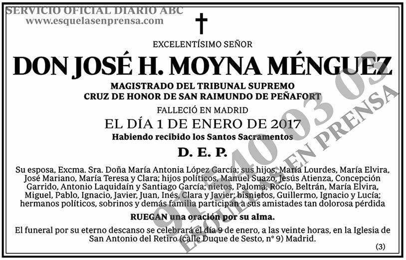 José H. Moyna Ménguez